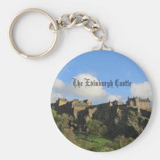 エジンバラの城Keychain キーホルダー