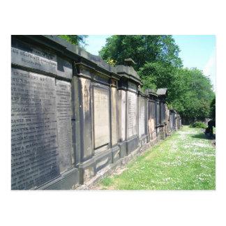 エジンバラの墓地 ポストカード