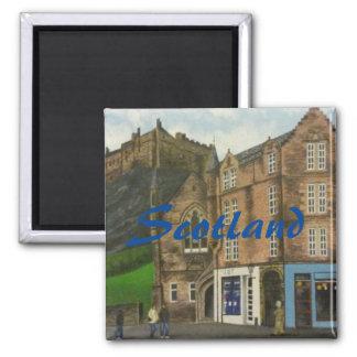エジンバラの絵画-スコットランド マグネット