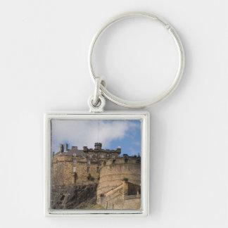 エジンバラの美しく有名で巨大な城 キーホルダー