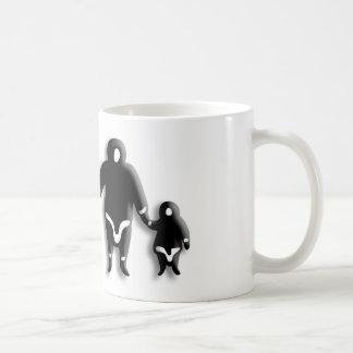 エスキモー家族 コーヒーマグカップ