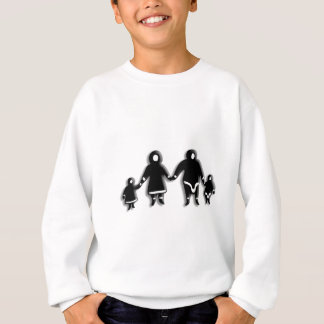 エスキモー家族 スウェットシャツ