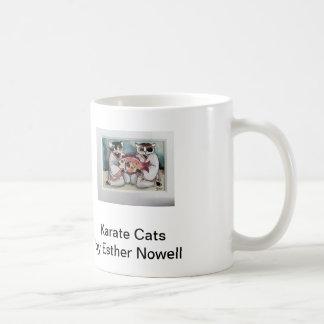 エスターNowell著空手猫そして猫の人魚 コーヒーマグカップ
