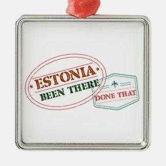 エストニアそこにそれされる メタルオーナメント