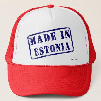 エストニアで作られる キャップ