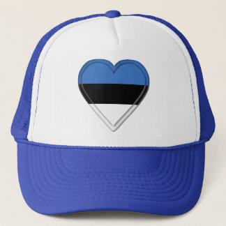 エストニアのエストニア語の旗 キャップ