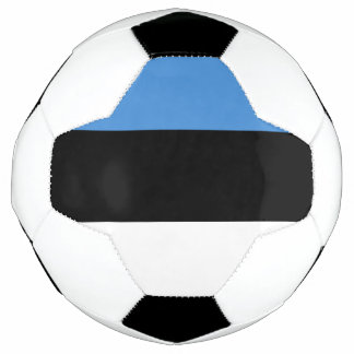 エストニアのサッカーボールの旗 サッカーボール