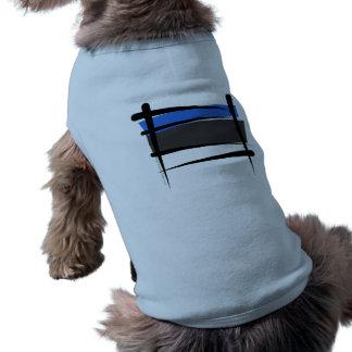 エストニアのブラシの旗 ペット服