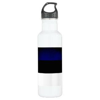 エストニアのモノクロ旗 ウォーターボトル