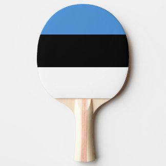 エストニアの卓球ラケットの旗 卓球ラケット
