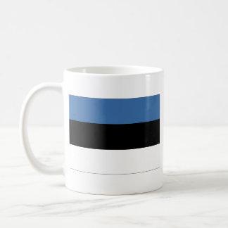 エストニアの旗の~の地図のマグ コーヒーマグカップ