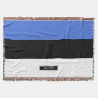 エストニアの旗 スローブランケット