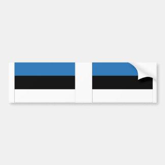 エストニアの旗 バンパーステッカー