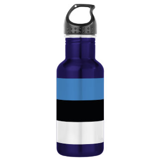 エストニアの明白な旗 ウォーターボトル