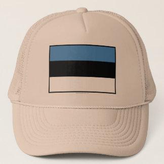 エストニアの明白な旗 キャップ