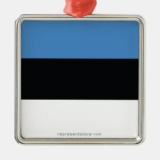 エストニアの明白な旗 メタルオーナメント