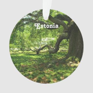 エストニアの景色 オーナメント