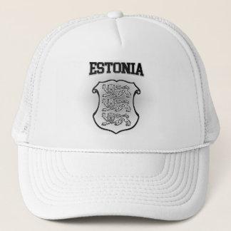 エストニアの紋章付き外衣 キャップ