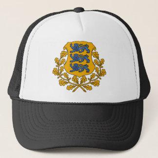 エストニアの紋章 キャップ