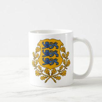 エストニアの紋章 コーヒーマグカップ