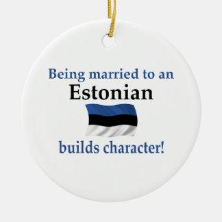 エストニアはキャラクターを造ります セラミックオーナメント