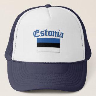 エストニア語の旗 キャップ