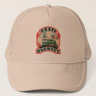 エストニア語の鉄道帽子 キャップ