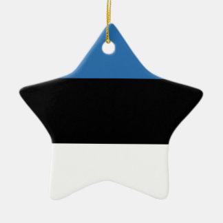 エストニア語のFalg 陶器製星型オーナメント