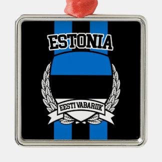 エストニア メタルオーナメント