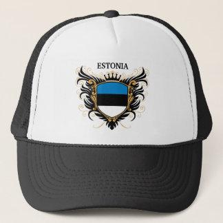 エストニア[個人化して下さい] キャップ