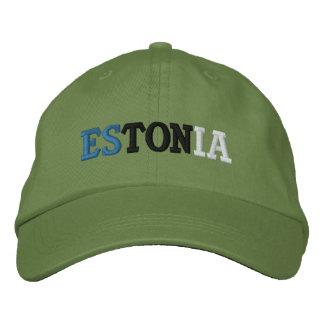 エストニア 刺繍入りキャップ