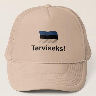 エストニアTerviseks! キャップ