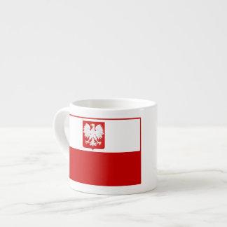 エスプレッソのマグポーランドの紋章付き外衣の旗 エスプレッソカップ