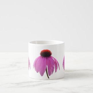 エスプレッソのマグ-紫色のConeflower - Echinacea エスプレッソカップ