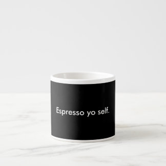 エスプレッソのYoの自己のコップ エスプレッソカップ