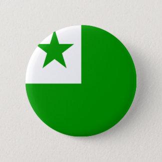 エスペラントの高品質な旗 5.7CM 丸型バッジ