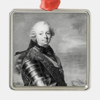 エチエンヌFrancois Choiseulの公爵の、ポートレート メタルオーナメント