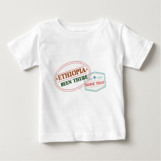 エチオピアそこにそれされる ベビーTシャツ