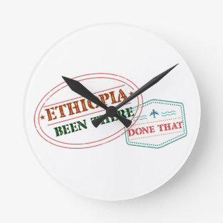 エチオピアそこにそれされる ラウンド壁時計