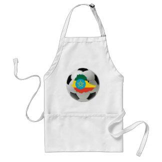 エチオピアのフットボールのサッカー スタンダードエプロン