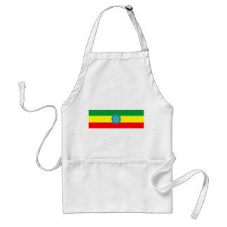 エチオピアの国旗の長い記号 スタンダードエプロン