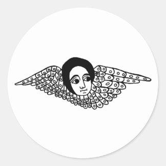 エチオピアの天使 ラウンドシール