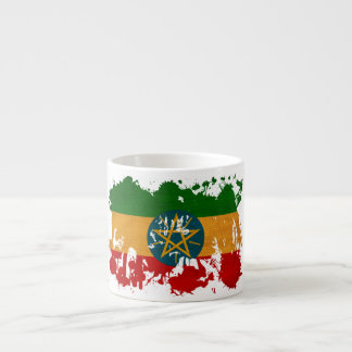 エチオピアの旗 エスプレッソカップ