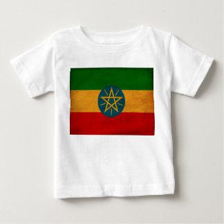 エチオピアの旗 ベビーTシャツ