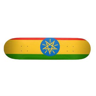 エチオピアの旗 18.1CM オールドスクールスケートボードデッキ