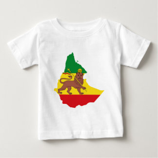エチオピアの旗prライン👍😂😂👌 ベビーTシャツ