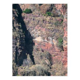 エチオピアの石の壁 ポストカード