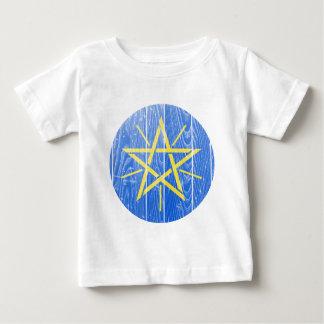 エチオピアの紋章付き外衣 ベビーTシャツ