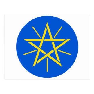 エチオピアの紋章付き外衣 ポストカード