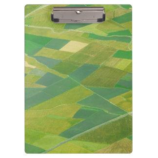 エチオピアの農地のアンテナ クリップボード